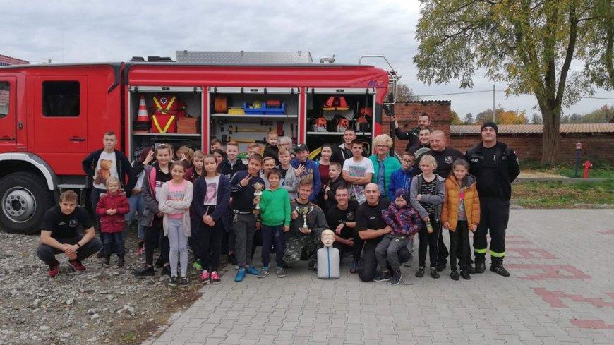 Z wizytą w Ochotniczej Straży Pożarnej w Lubrzy