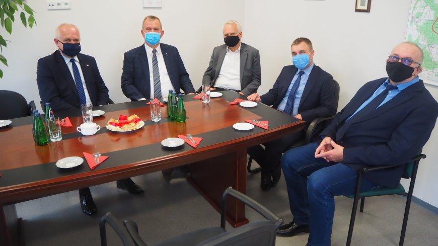 Wizyta Wojewody Lubuskiego w Urzędzie Gminy w Lubrzy