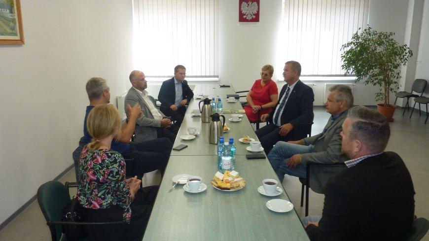 Spotkanie z gminą partnerską Amt Burg oraz przedstawicielami Euroregionu Sprewa-Nysa-Bóbr.