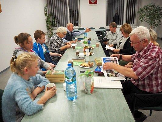 Spotkanie w Bibliotece (21.11.2019)